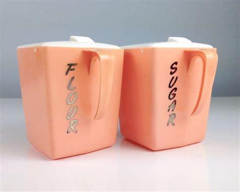 pink kitchen canister set ca 1950 s fabfindsblog 1271 best canister sets images on pinterest vintage