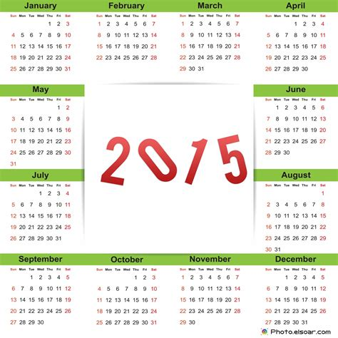 clip for new year 2015 search results for 2015 calendar of clip art calendar 2015