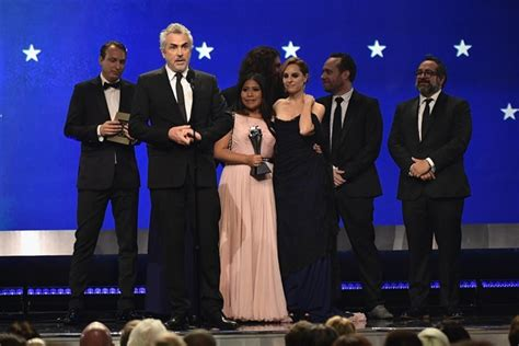 nominados en los critics choice awards 2019 lista completa roma se lleva cuatro premios en los critics choice awards 2019 la primera plana