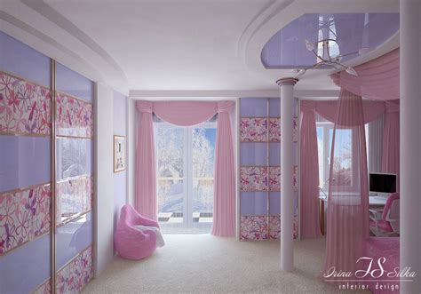 Bedroom Gorgeous Image Of girls bedroom cozy pink and purple girl bedroom
