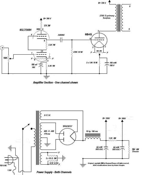Power Lifier Ca 807 lifier schematics power schematic