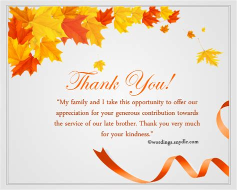 thank you letter to and coworkers sympathy thank you notes wordings and messages