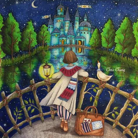 libro romantic country the second romantic country the second tale cheng coloring pages colorear