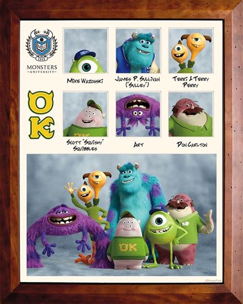 the disney pixar monsters universitytoy story zone also acts as a meet the characters of monsters university new voices