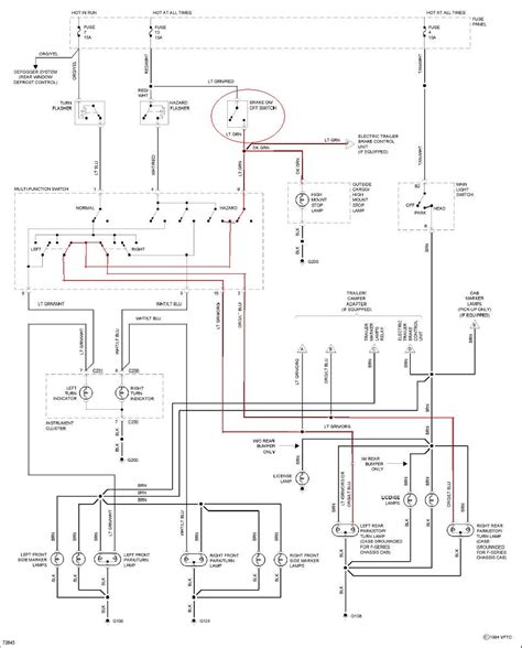 need wiring diagram for 1995 ford f 150 v 8 brake light