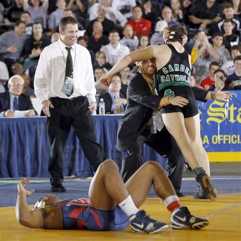 new jersey high school wrestling njcom state wrestling miller decisions scotton in 135 final