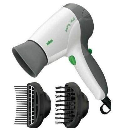 Braun Hair Dryer Swing 1400 braun bc 1400 s2 swing hair dryer alzashop