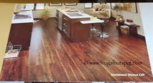 costco sale reclaimed walnut luxury vinyl plank floor tile 29 99 frugal hotspot