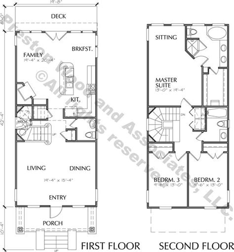 house plans and more com small urban home floor plan for sale