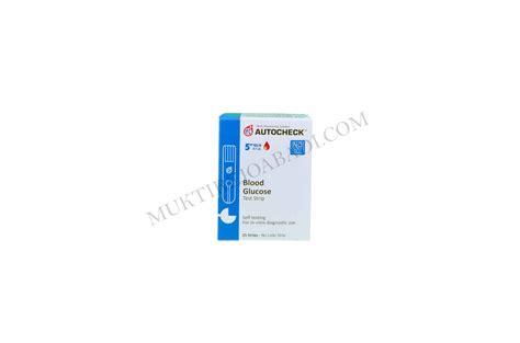 Autocheck Glucose by Autocheck Blood Glucose Ekomed