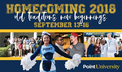 homecoming point university