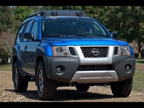 nissan xterra 2015 pro4x 2015 nissan xterra start up and review 4 0 l v6