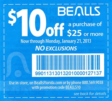 printable coupons bealls outlet beals coupon 2015 best auto reviews