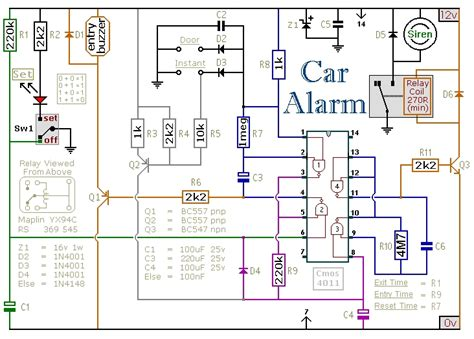 car security system wiring diagram wiring diagram and