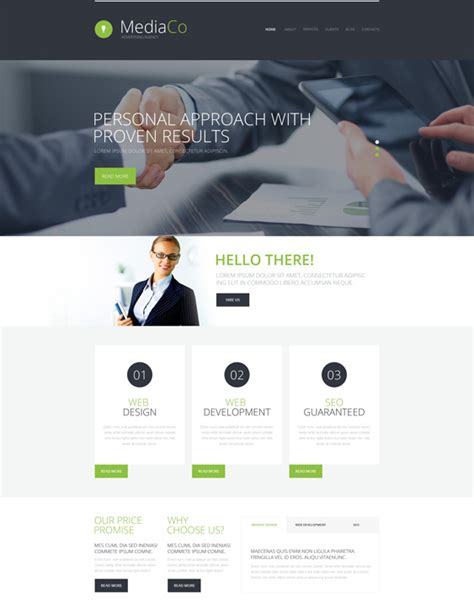 wordpress templates for advertising 9 of the best wordpress themes for advertising agencies down