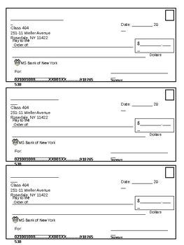 printable fake money and checks blank checks worksheet wiildcreative