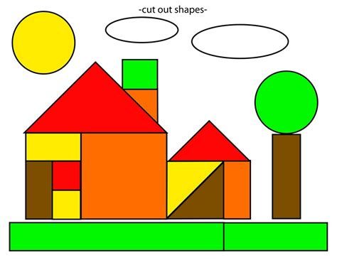 printable shapes cut and paste shapes home cut and paste free printables 2 171 preschool