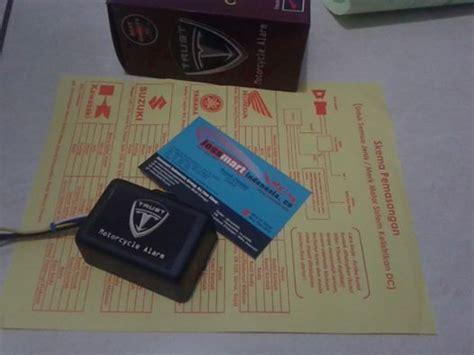 Pengaman Anti Malingbegal Sensor Sentuh 1 Titik Sentuh jual alarm motor sentuh anti begal anti maling anti perasan onlinestore harga jual alat