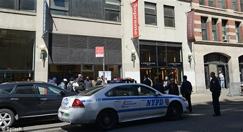 stores that sell supreme supreme nike air formaposite launch shut by nypd