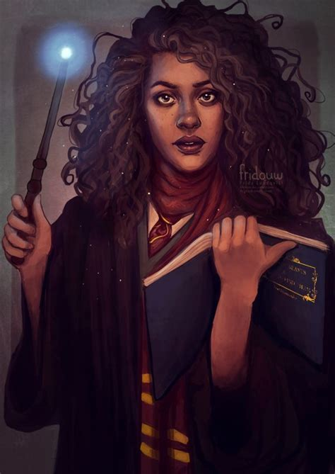 Hermione Granger Witch by Hermione Granger By Fridouw Harry Potter Wizard