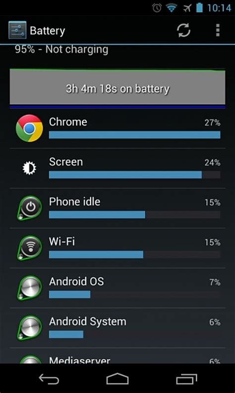 android media server media server my battery android forums at androidcentral