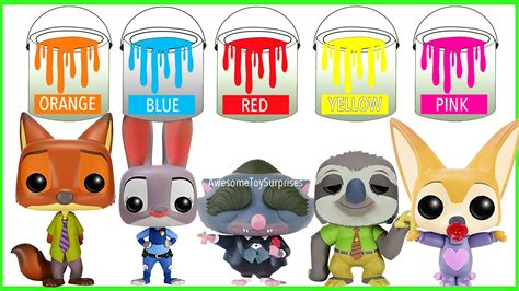 Funko Pop Disney Zootopia Nick Wilde disney zootopia nick wilde judy hopps funko pop toys