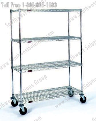 The Wheel Rack San Antonio by Mobile Wire Shelves On Wheels Mobile Wire Shelves On