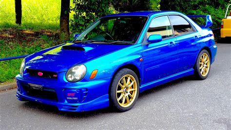 Subaru Wrx Sti 2002 by 2002 Subaru Impreza Wrx Sti Limited Canada Import Japan