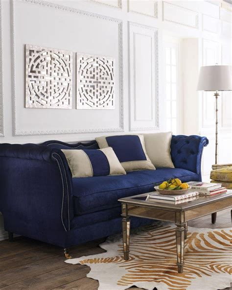 royal blue velvet sofa sofas center royal blue velvet romanus royal blue velvet