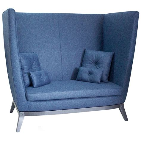 back to back sofa the contract chair company brigitte high back sofa
