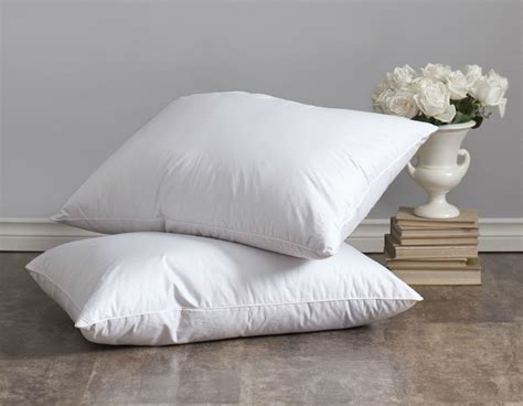 luxury bed pillows lajord down pillow by st geneve luxury bedding