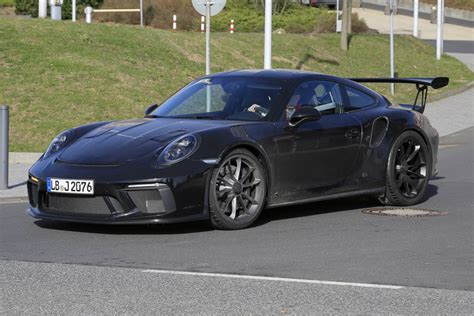 new porsche 911 gt3 rs 2019 porsche 911 gt3 rs 4 2 latest spy shots gtspirit