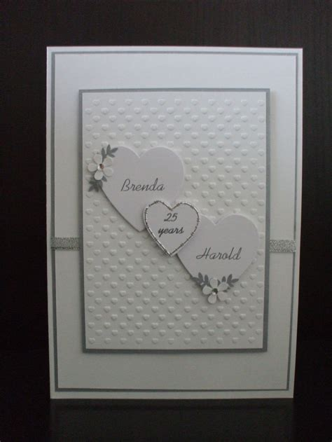 silver wedding card cards wedding cards  anniversary cards wedding day cards