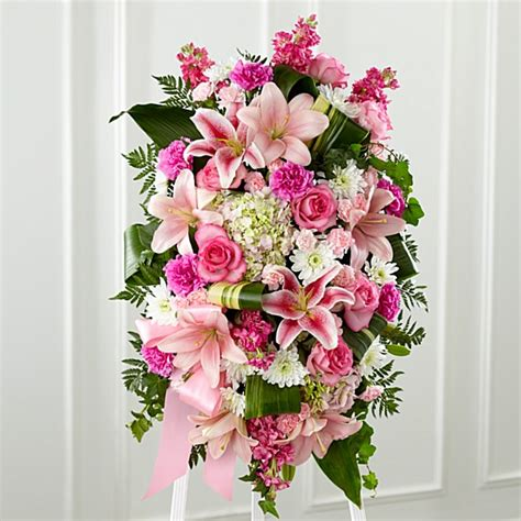 Sprei Flower standing funeral sprays floral spray arrangements