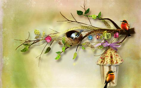Birds sweet home most beautiful poster wallpapers   New hd wallpaperNew hd wallpaper