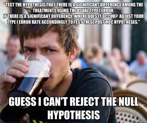 Meme Hypothesis - lazy college senior memes quickmeme