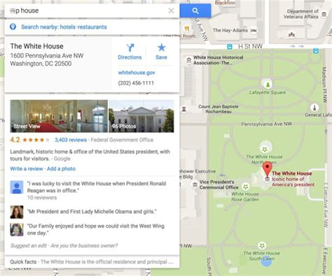 White House Directions by Listings In Maps That Will Shock You Why