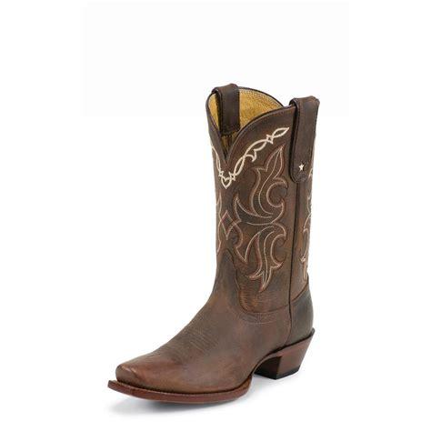 tony lama womens boots tony lama s sorrel tucson vaquero boots d d