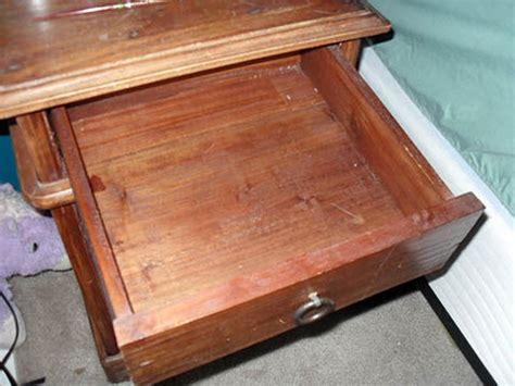 build false bottom drawer nightstand false bottom drawer and secret compartment