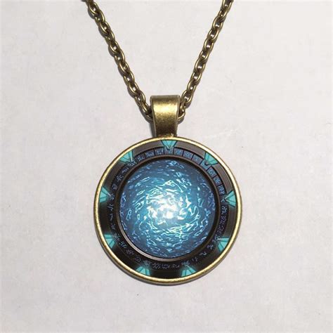 necklace pendants stargate portal atlantis necklace