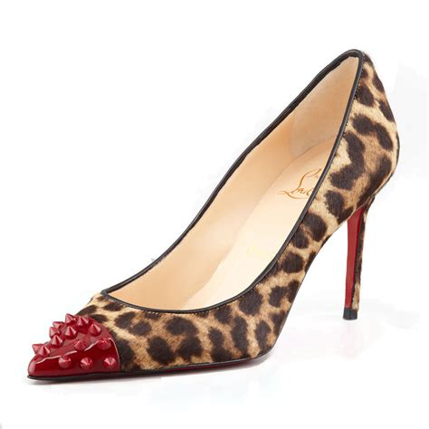 high heels on sale cheap 2018 christian louboutin bottom geo 8cm high heels