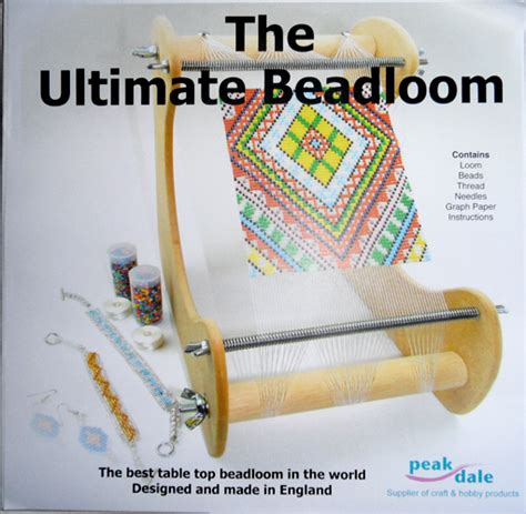 how to make a bead loom craft product review ultimate bead loom by peak dale