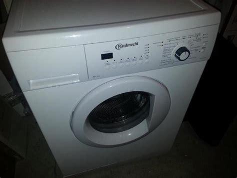 waschmaschine bauknecht bauknecht waschmaschine in frankfurt waschmaschinen