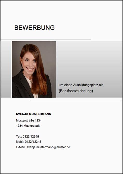 Bewerbung Industriekauffrau Lehrstelle deckblatt muster thinglink