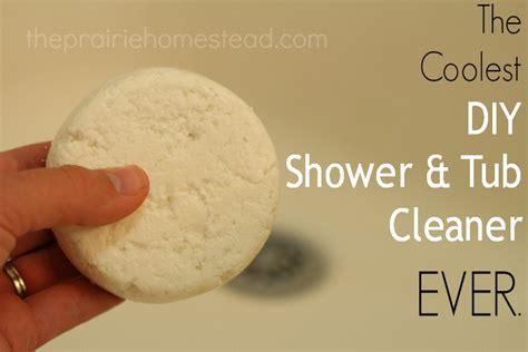 homemade bathtub cleaner the coolest homemade tub shower cleaner ever