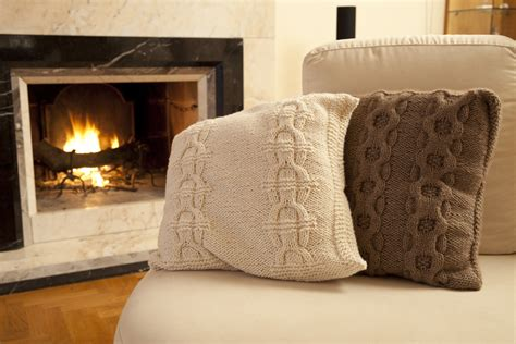 cuscino a maglia cuscini a maglia gomitoli s hobby e casa