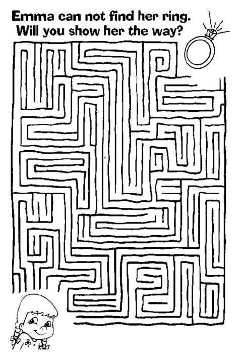 printable mazes with more than one solution free printable mazes for kids at allkidsnetwork com