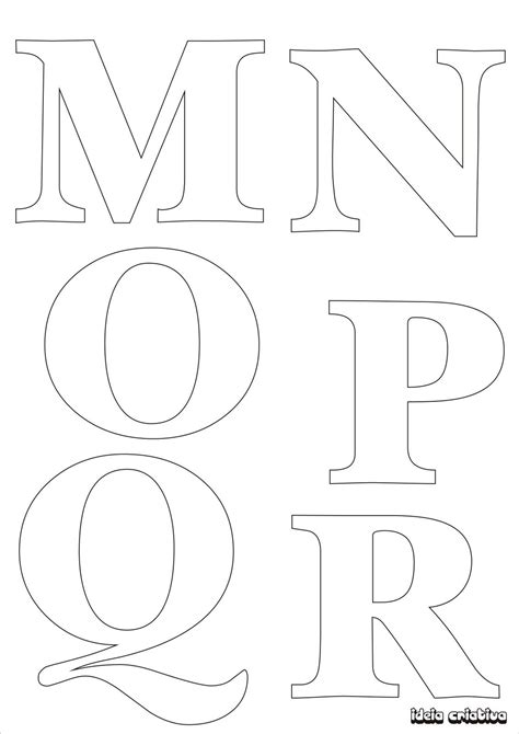 printable letter templates for sewing moldes letras e numeros 3jpg picture stencils