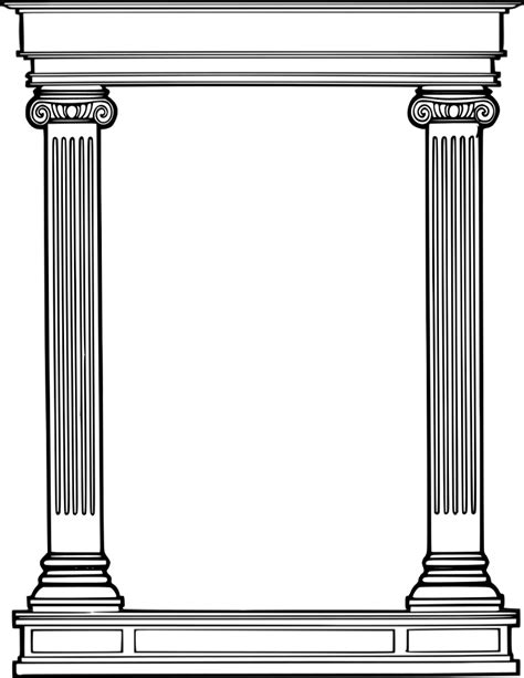 roman column frame page frames more frames column roman