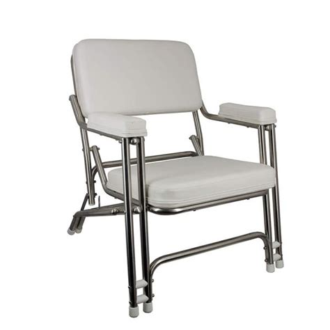 boat deck chairs west marine springfield stainless steel folding deck chair west marine